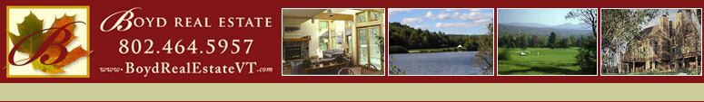 Southern Vermont Real Estate / Boyd real estate